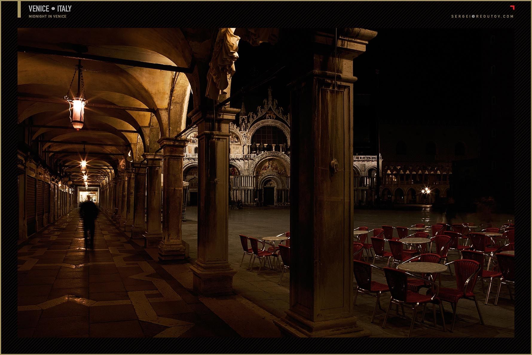 St Marco at midnight, Venice