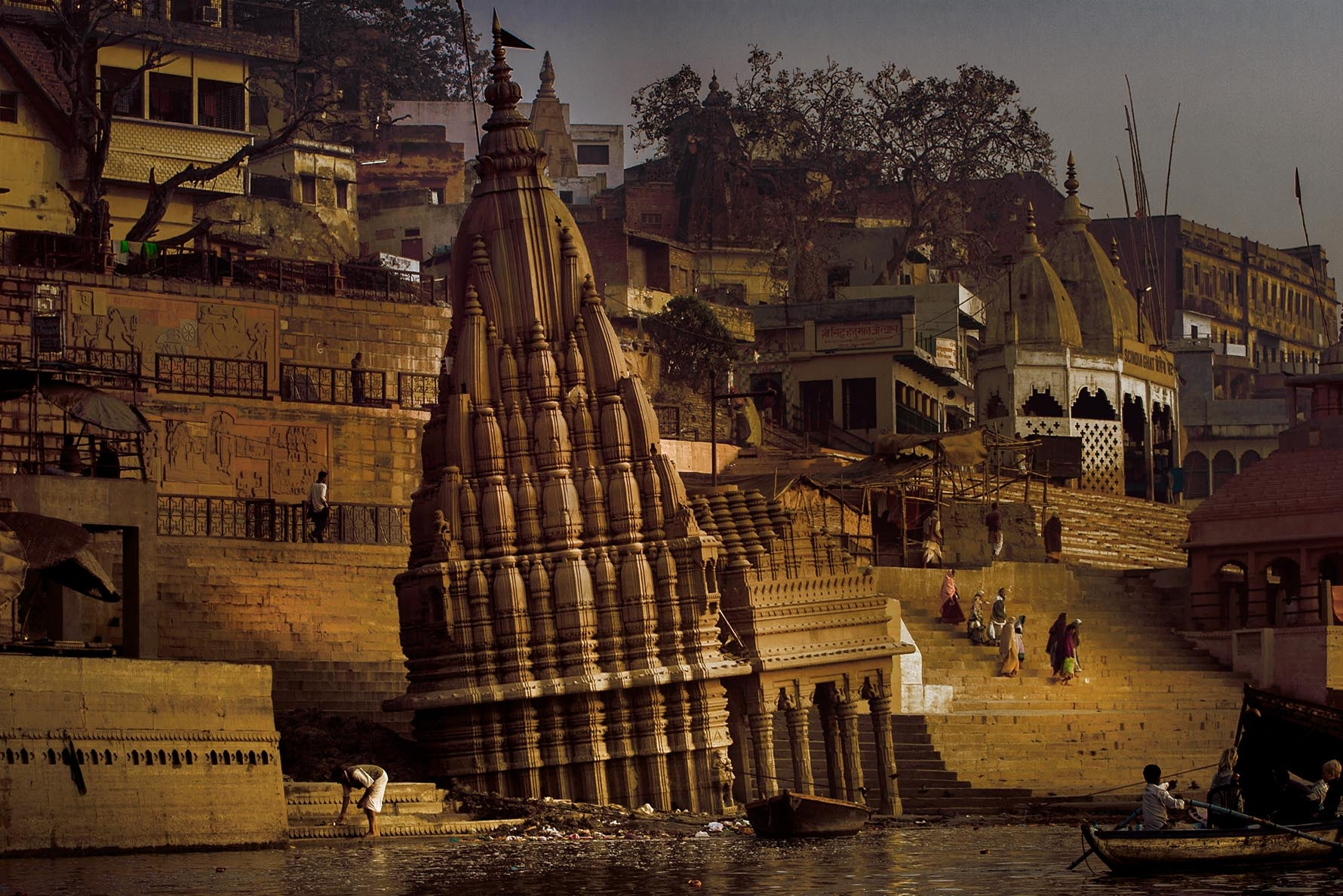 River Ganges and Ghats in Varanasi