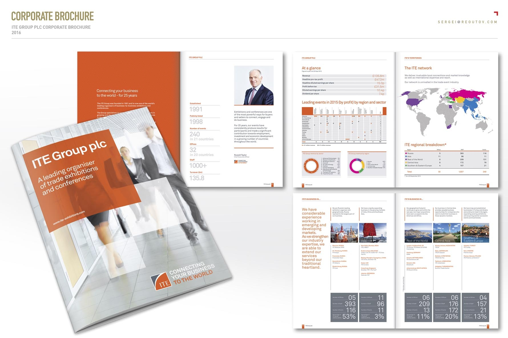 ITE Group Plc corporate brochure