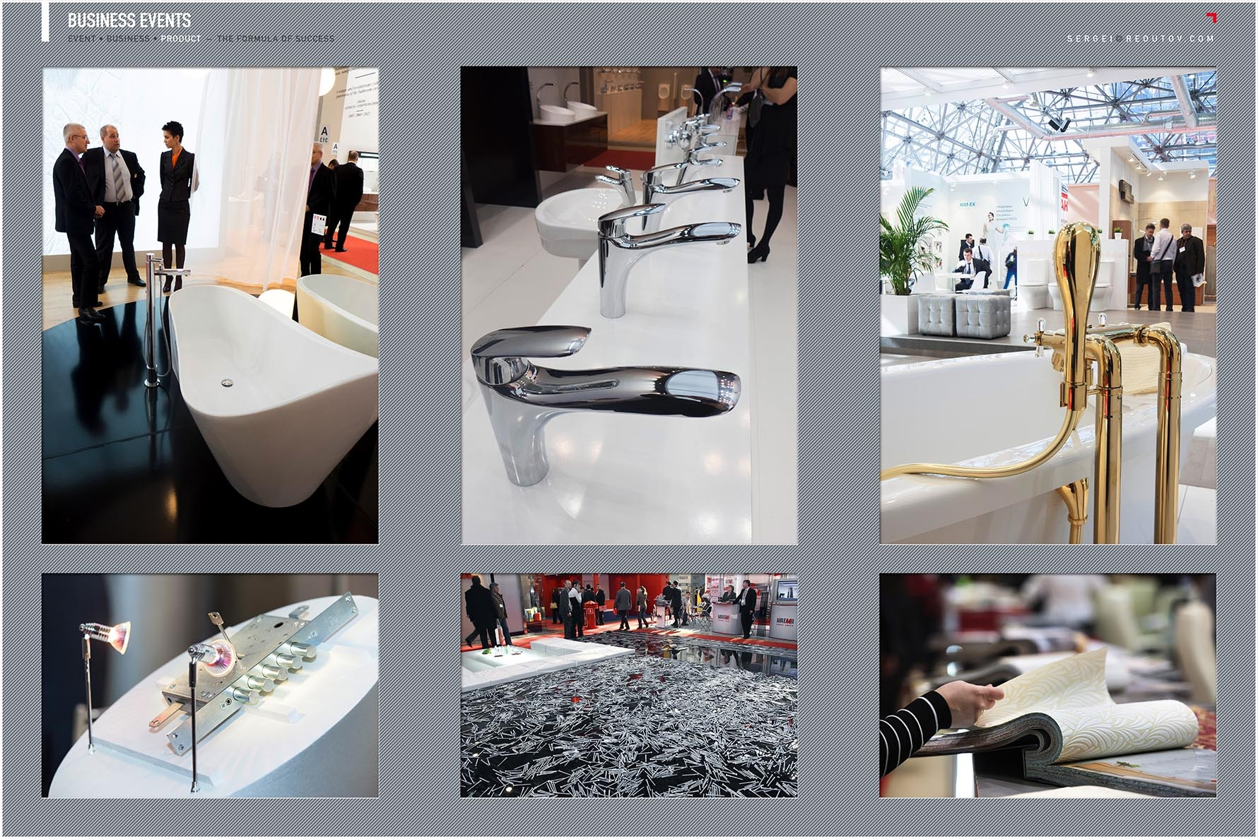 Exhibition product photography